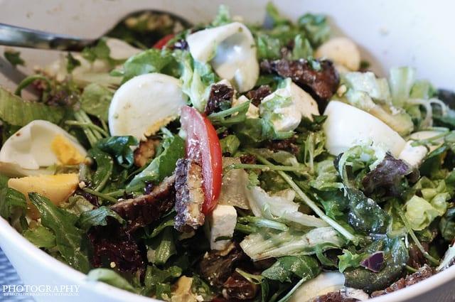 Salade met Tempeh
