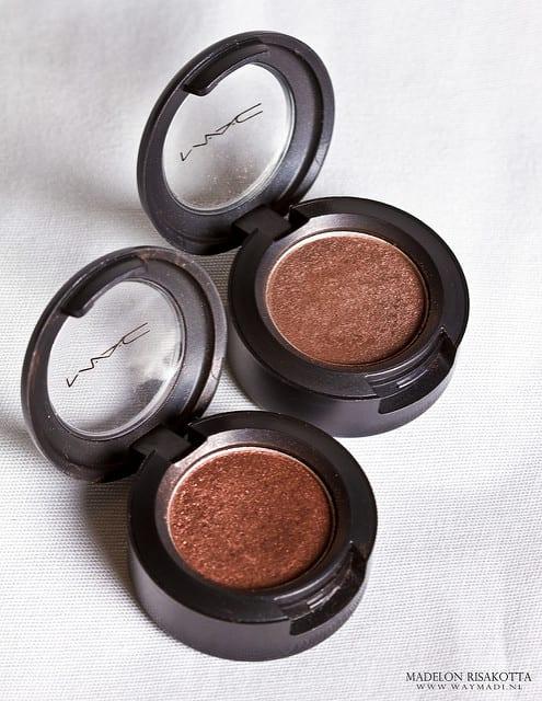 MAC Eyeshadow: Twinks en Glamour Check