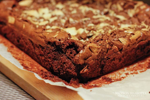 Chocolate Bomb Brownies