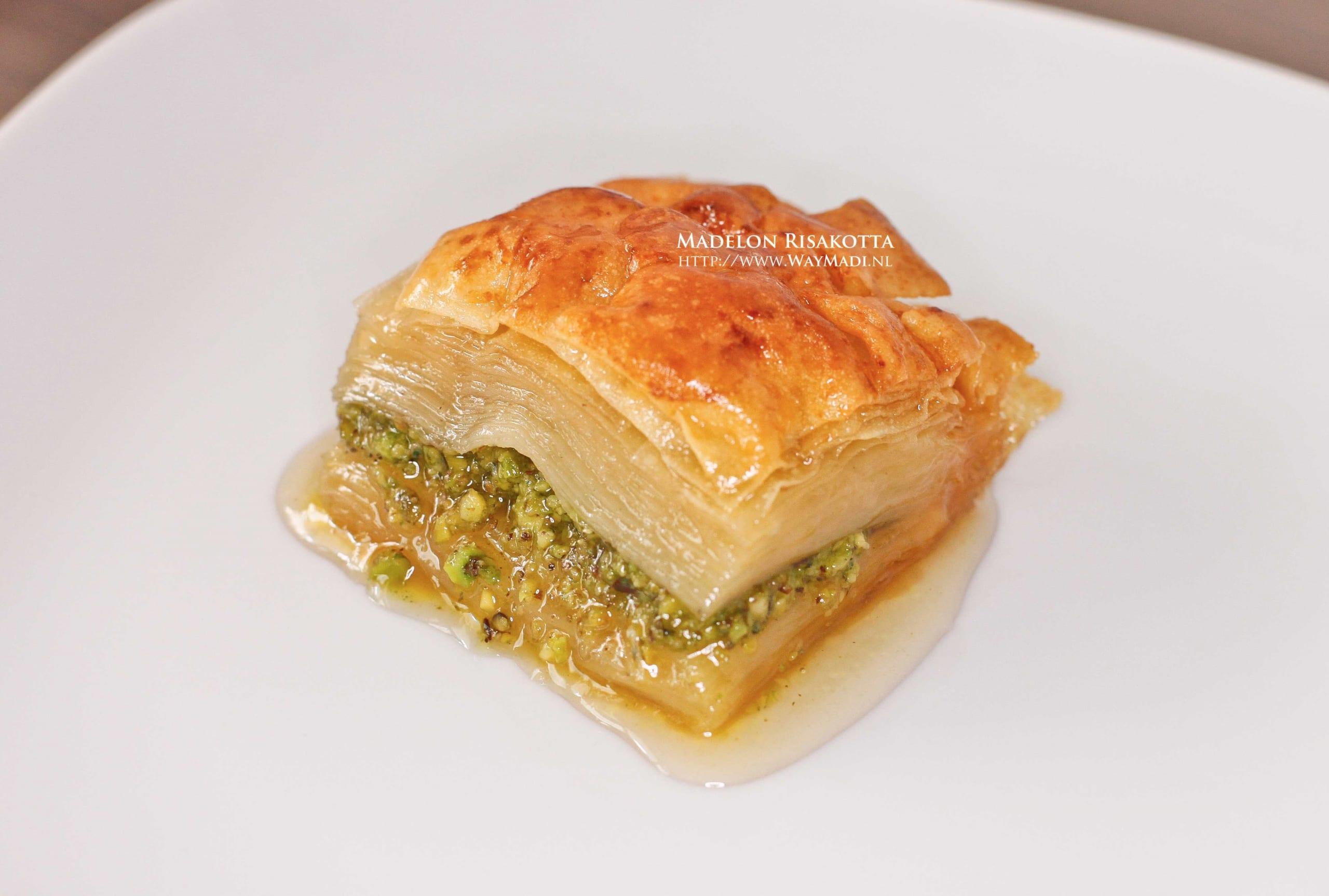 Baklava Recept met Pistache
