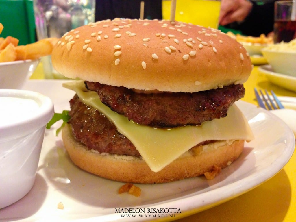 Tinseltown Double Chease Burger