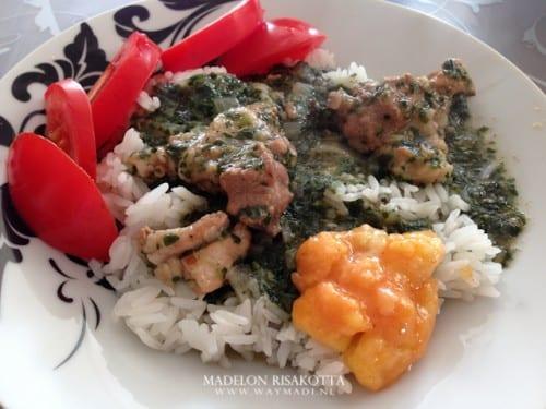 arabische rijst moloukhia a'amba
