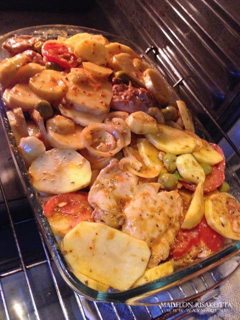 aardappel ovenschotel met kippendij-3