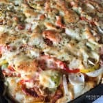 Cheesy Chicken Pizza-4