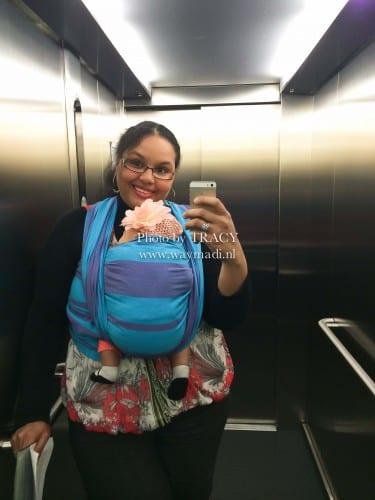 Ergonomisch baby dragen