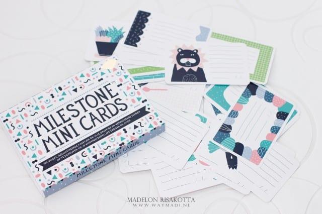 Milestone Mini Cards