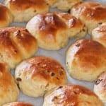#Waymadifood Rozijnenbroodjes-4