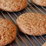 Sunny oatmeal cookies