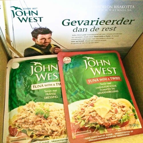 #WaymadiFood Tonijn John West