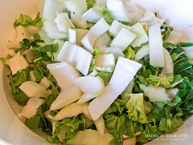 Udon noodles tijgergarnalen shii-takes paksoi gember pandan kokossaus-3