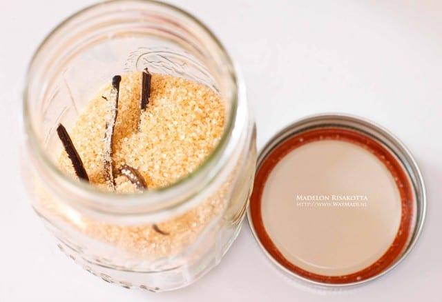 vanille- rietsuiker