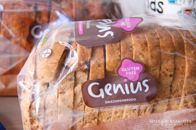 Genius Driezaden Glutenvrij Brood