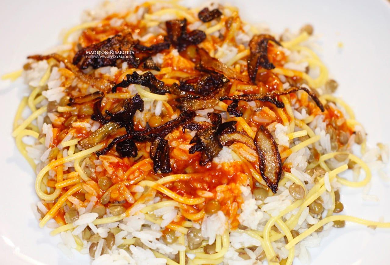Recept Koshary