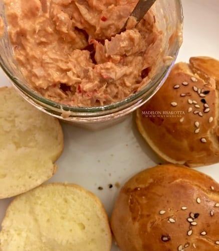 Andalouse saus met tonijn
