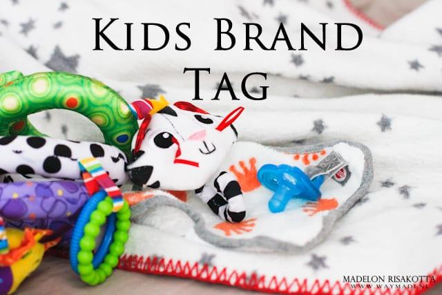 De Kids Brand Tag