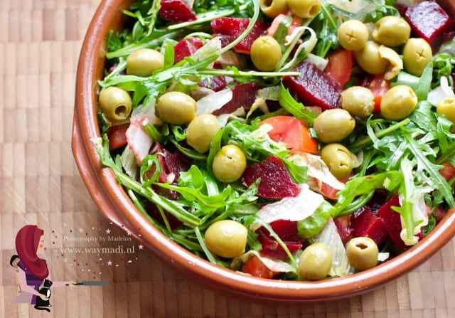 salade rode biet