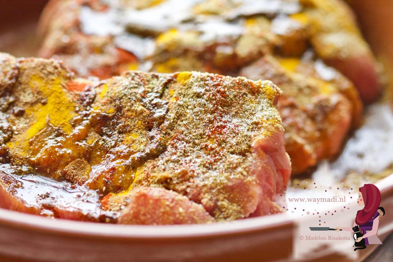 Tajine met gepekelde citroen en kalfsvlees
