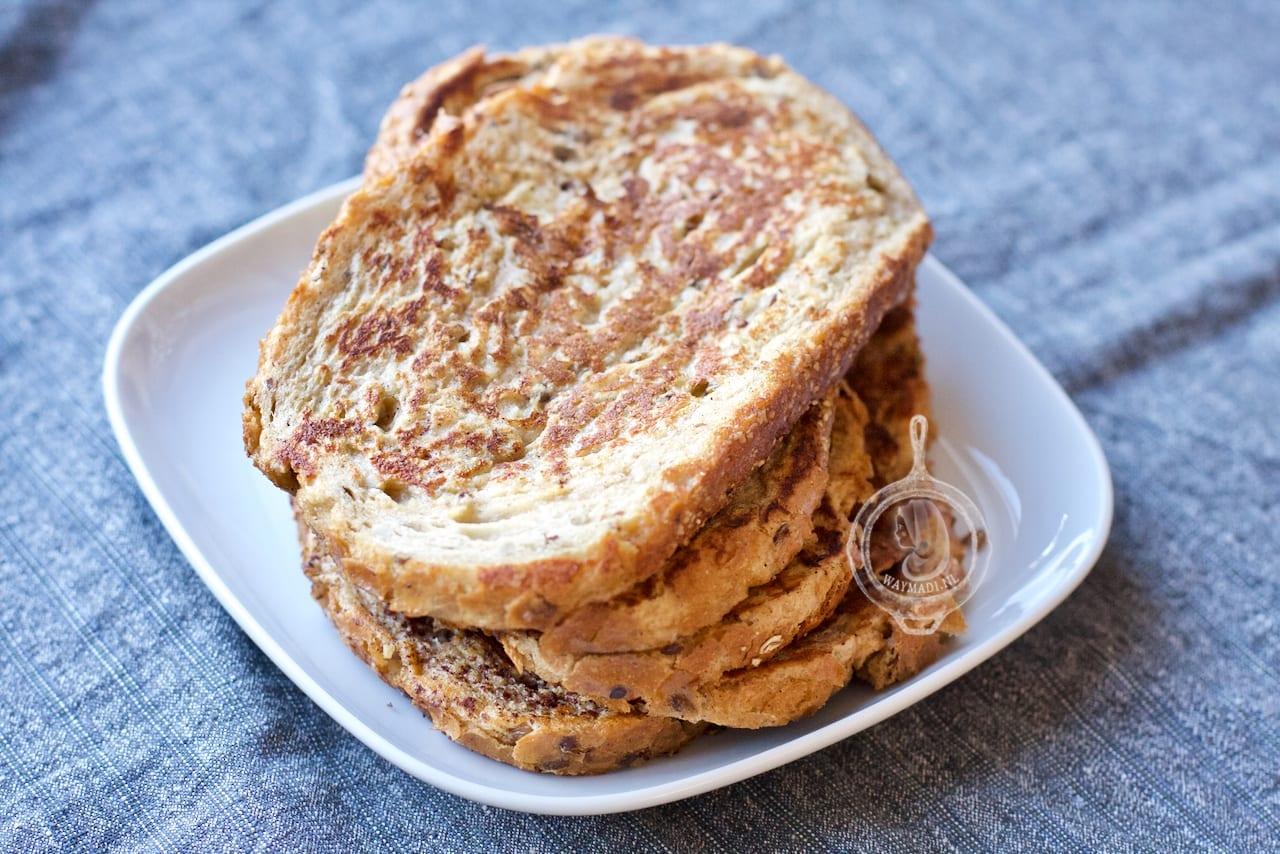Wentelteefjes van speltbrood