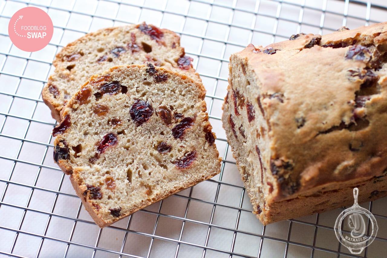 Krentenbrood met thee #Foodblogswap