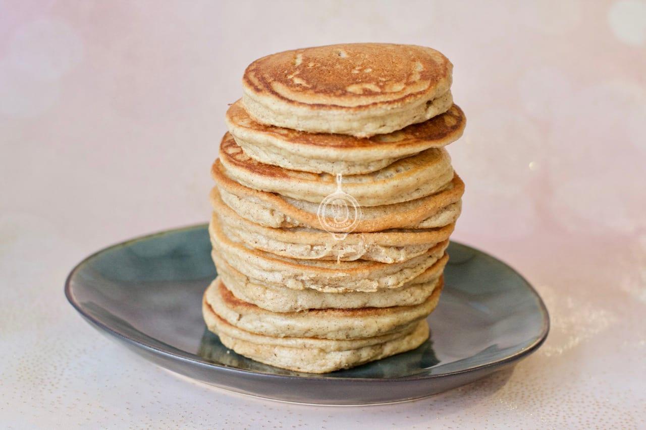 Amandelmeel pancakes