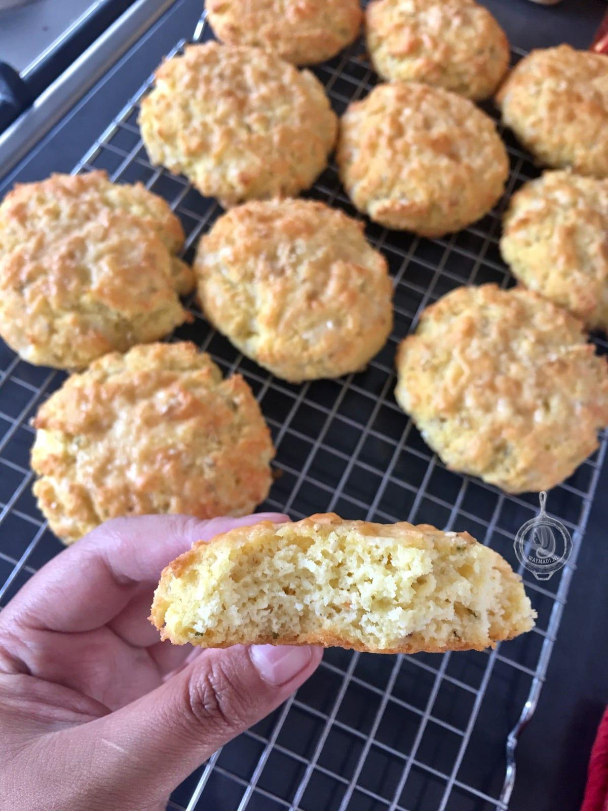 Parmezaanse kaas biscuits