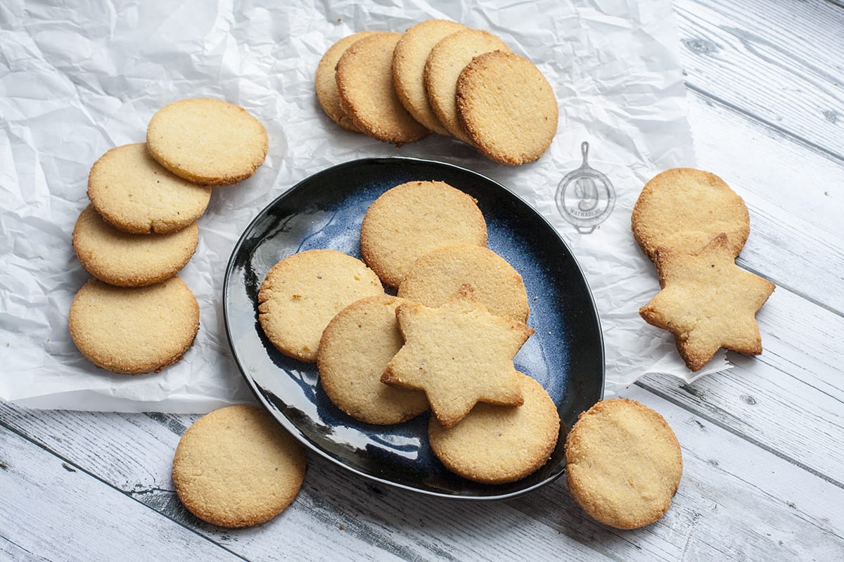 Shortbread cookies (Koolhydraatarm)