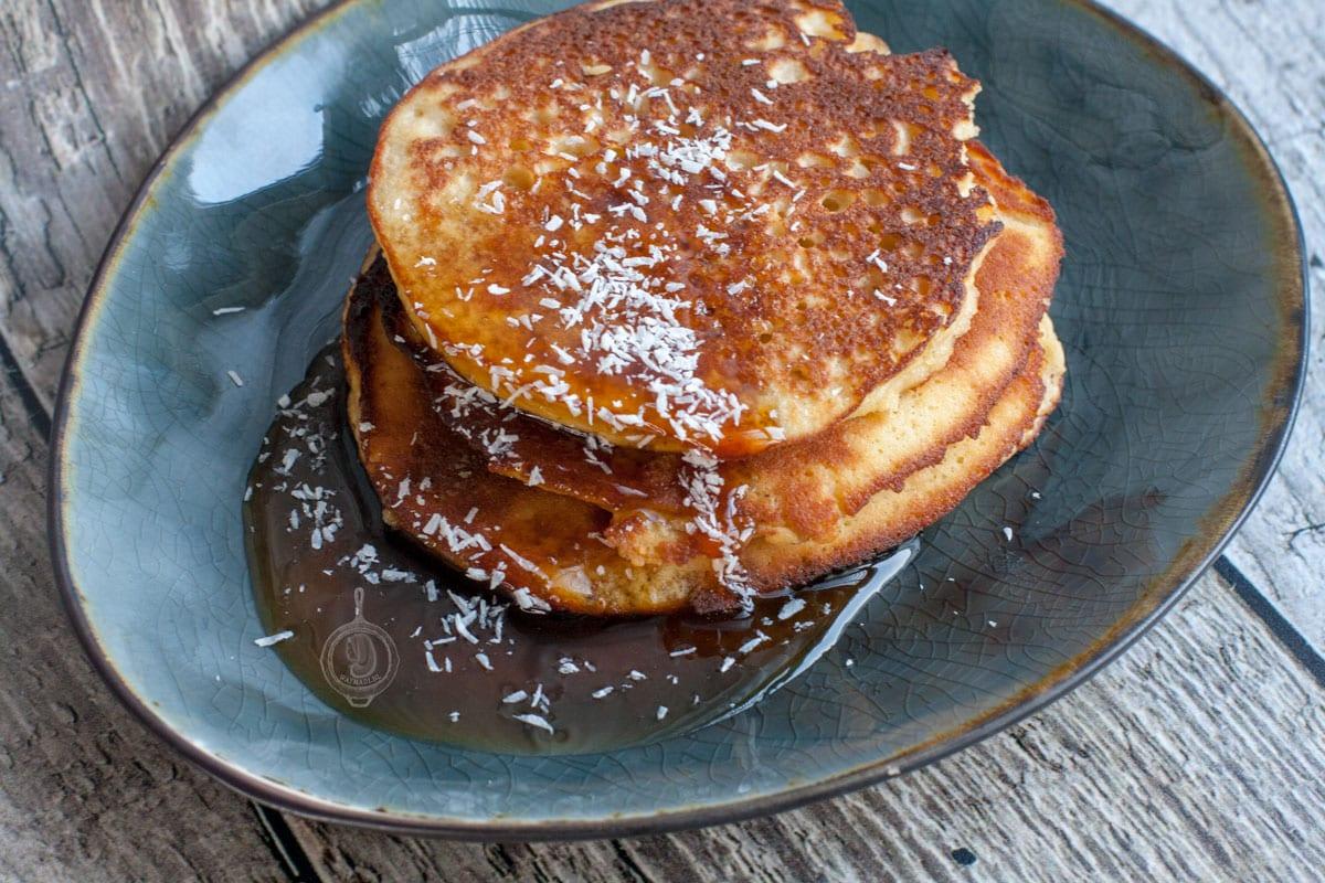Fluffy Kokosmeel Pancakes
